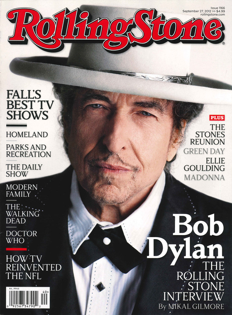 Rolling stone magazine cover september  2012