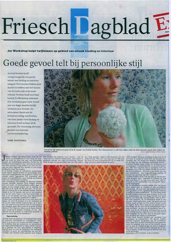 Nederland frieschdagblad april 2016 cover