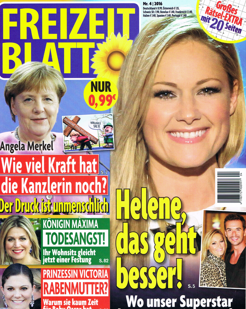 Germany freizeitblatt april 2016 cover