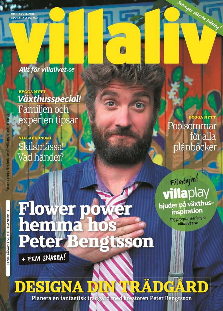 Zweden villaliv april 2016 cover