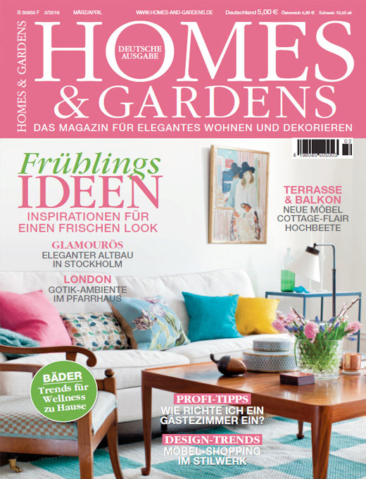 Maart03 homes and gardens pfffh cover