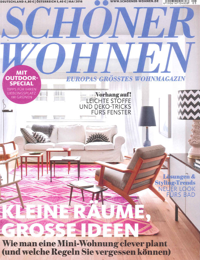 Duitsland schonerwohnen april 2016 cover