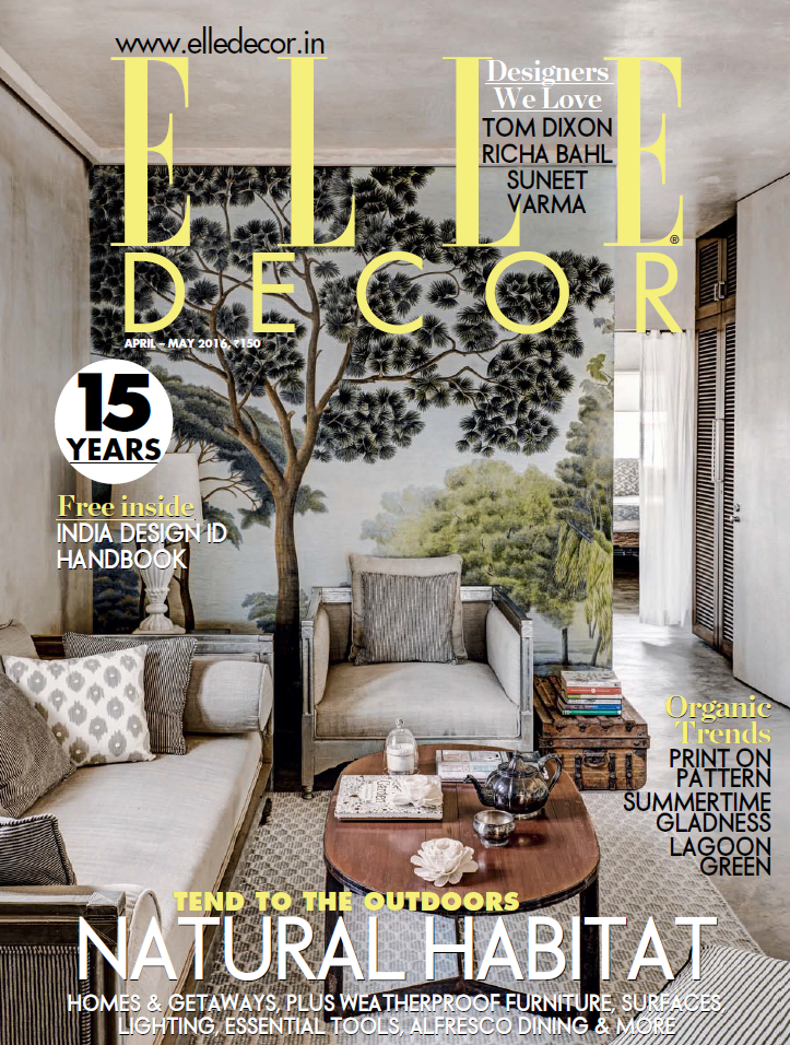 India elledecor lamzac april 2016 cover