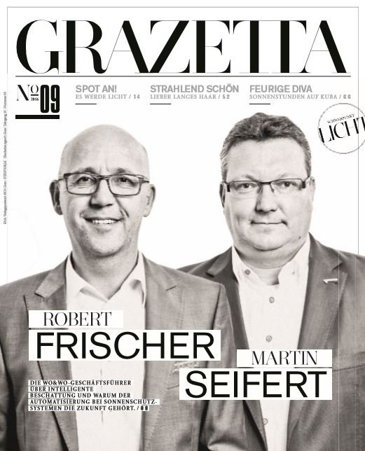 At grazetta september 2016 cover