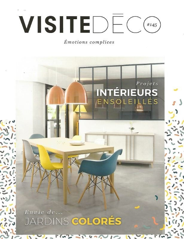 Frankrijk visitedeco april 2017 cover